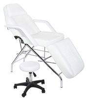 Basic Facial and Massage Bed/Table with free hydraulic stool