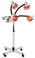 5 Head Infra red lamp w / flexible arms