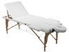 Portable Massage Table, Bed with Recline able Back