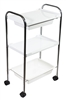Three Level Plastic Trolley Cart