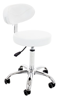 Hydraulic Stool with Curve backrest