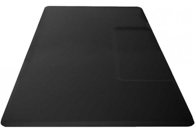 "Rectangular 1"" Anti Fatigue Salon Mat with Square Cut Out"