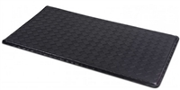 "Black Anti-Fatigue Textured Floor Mat - 36"" x 20"""
