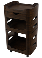 Moda Wooden Spa Trolley Cart, salon, rolling, wheel, wheeled, luxury, wholesale, affordable
