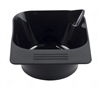 SkinAct Black Tint Bowl With Rubber Grip Bottom