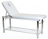 Solid Massage Table, Bed with Metal Frame & towel holder