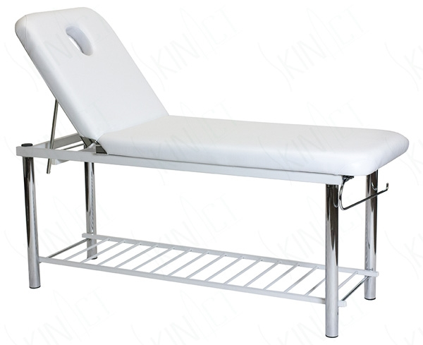 Solid Massage Table, Bed With Metal Frame U0026 Towel Holder