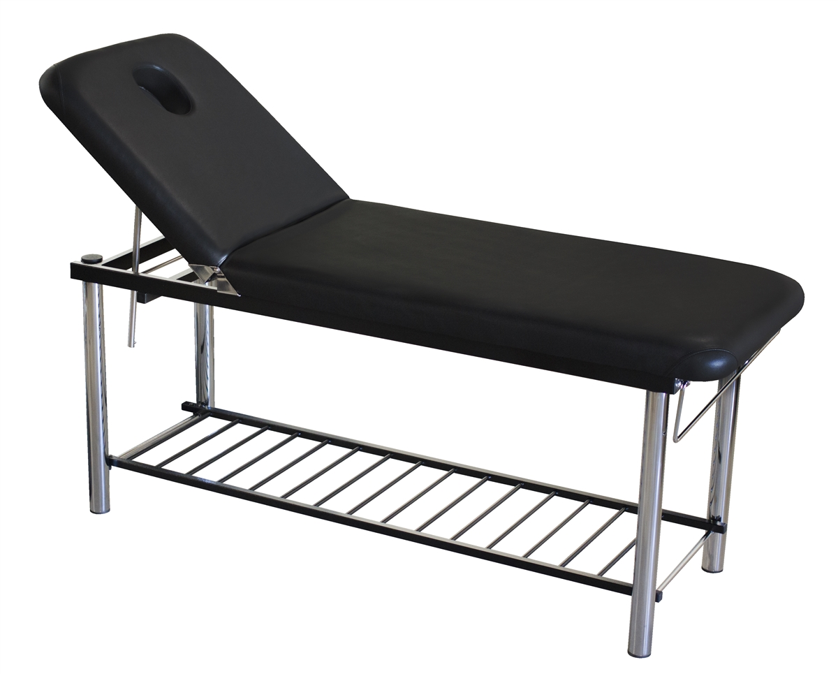 Massage Table And Chair solid massage table, bed with metal frame & towel holder, day spa
