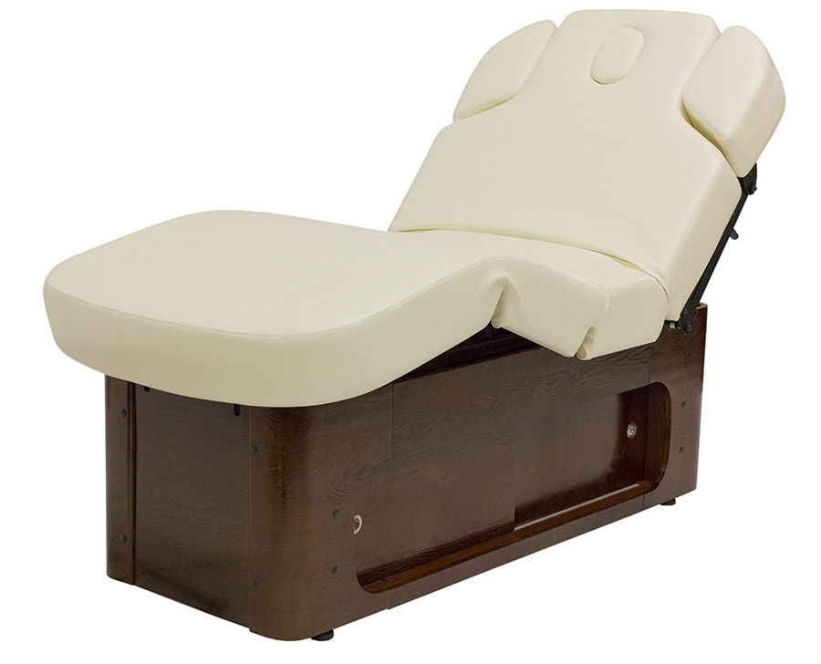 Mirrage fully electric massage and facial bed luxury for Spa furniture