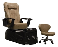 Capri Pedicure Spa Chair in Beige